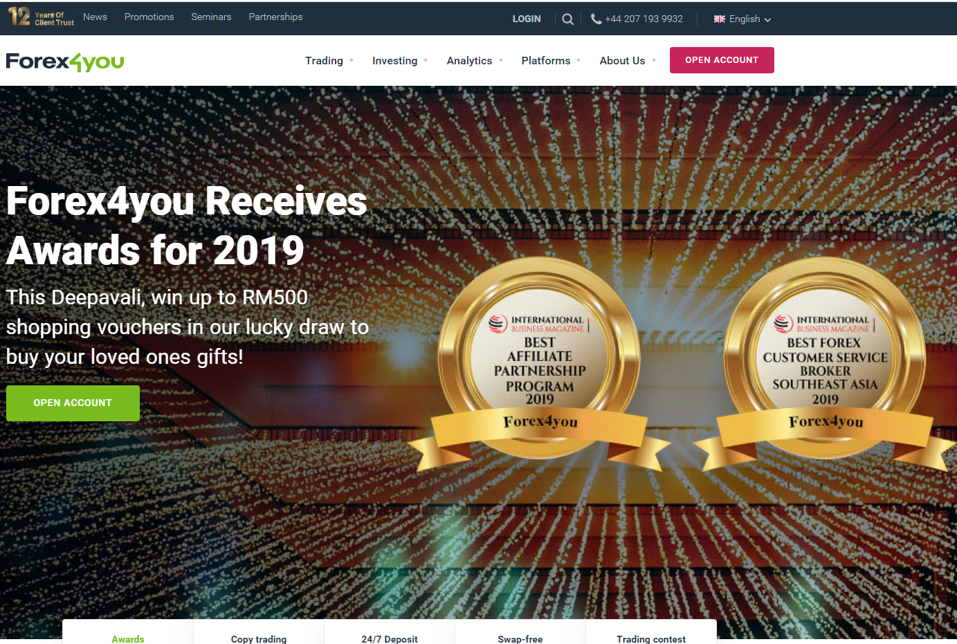 Screenshot of E-Global Trade & Finance Group, Inc