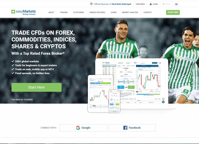 Screenshot of Easy Forex Worldwide Ltd.